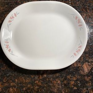1 Corelle Silk Blossom 10x12 Serving Platter